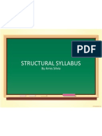 Structural Syllabus