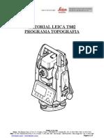Tutorial TS02 Programa Topografia