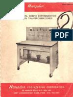 Manual Sobre Experimentos Con Transformadores
