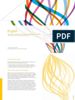 KS3 English National Curriculum 2008