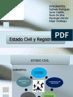 Estado Civil y Registro Civil