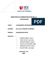 Proyecto Educativo Institucional - Jorge Basadre
