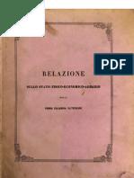 Relazione Sullo Stato Fisico Economico della Prima Calabria Ulteriore 1863
