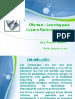 Oferta E_Learning para nuestro Perfeccionamiento 2012_ Jenny_Irarrázabal