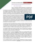 La situación de las competencias de lectura de los jóvenes. Evaluaciones ENLACE Y PISA