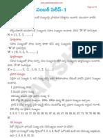 Mantel Ability in Telugu.