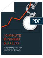 Bob Serling - 10-Minute Business Success