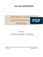 Bonded or Forced Labour
