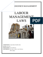 Labour Management Laws- Surabhi & Sapna