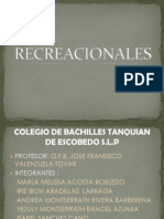 RECREACIONALES