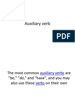 Auxiliary Verb