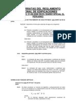 Fe de Erratas Del Reglamento Nacional de Edificaciones