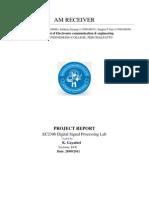 Ec2306 Mini Project Report