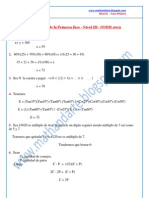 Solucionario ONEM Nivel III Fase 1