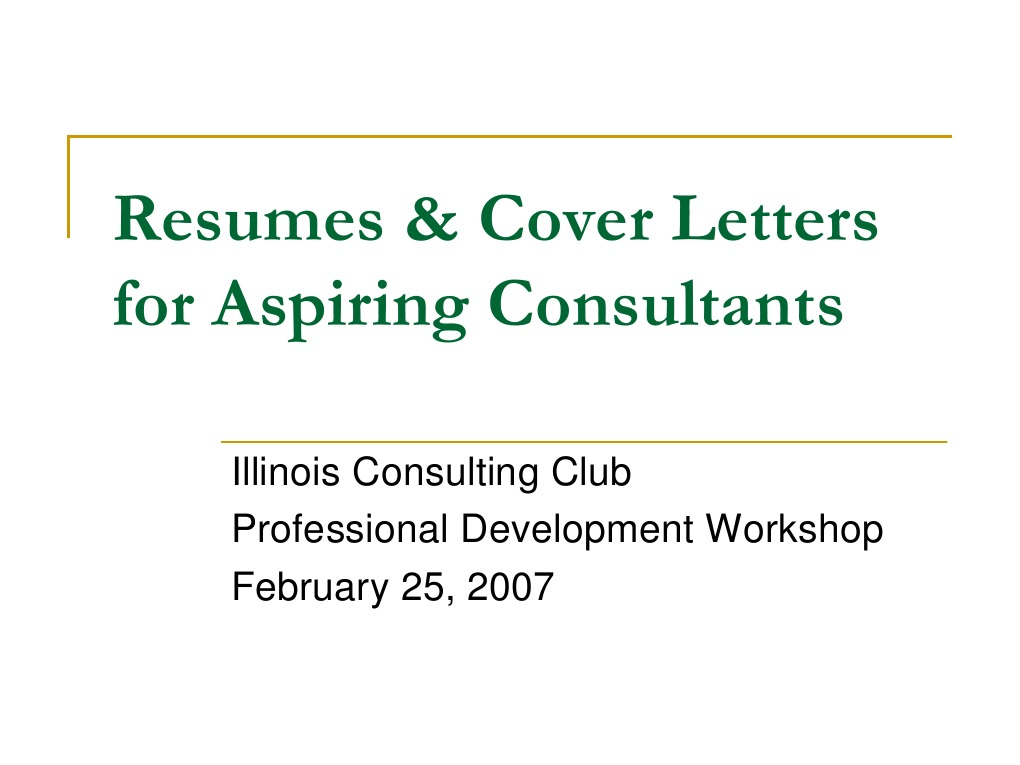 Resumes Amp Cover Letters For Aspiring Consultants R 233 Sum 233
