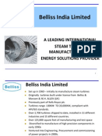 Belliss India Corporate Presentation