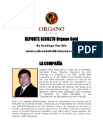 Reporte de Organo Gold