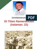 Sajak Di Titian Kemerdekaan Dharmawijaya