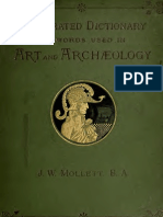 Illustrated Dictionary of word used in art and archeology
