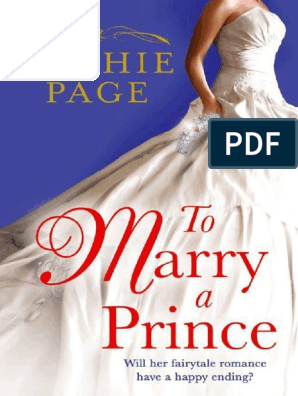 Sophie Page - To Marry a Prince | Copyright | Nature