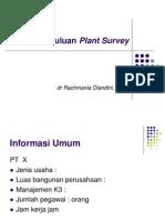 Sosialisasi Plant Survey