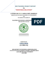Summer Internship Report(IFFCO)