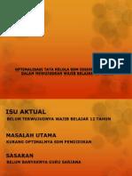Kertas kerja kelompok diklat pim iv bidang pendidikan Pohon Masalah Sdm