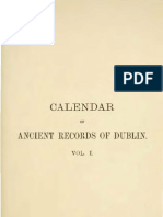Calendar of the Ancient Documents of Dublin Volume I (1447 - 1558