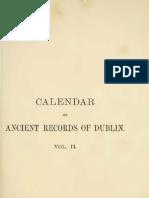 Calendar of the Ancient Documents of Dublin Volume II (1558 - 1610