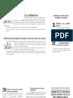 ORIENTACIONES 2º CICLO ED. PRIMARIA
