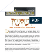 Dry Flower Production