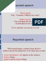 Reported Speech 21