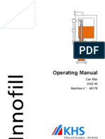 pdf manual book for krones machines packingand filling