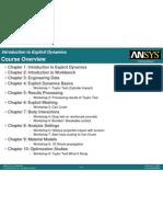 Explicit Dynamics Chapters