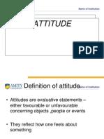 Attitude Module