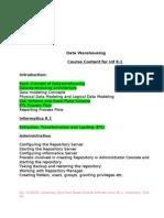 Informatica 8.1 New Version