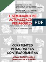 Corrientes Pedagógicas Contemporáneas (SUTEP 2008)