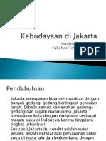 Kebudayaan Di Jakarta