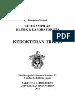 Manual Mahasiswa Kedokteran Tropis 2012