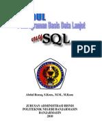 Modul Mysql Revisi POLIBAN 2012/2013