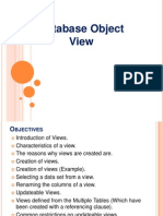 Database Object - View