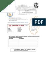 Taller No. 1 Manipulando Periodicos