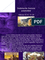 Sodoma és Gomora pusztulása