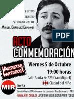 Afiche 5 de Octubre 2012