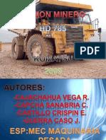 Camion Minero Hd 785
