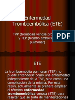 Enfermedad+Tromboembolica+(ETE)