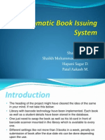 Automatic Book Issueing System