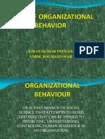 Scope of Organizational Behavior
