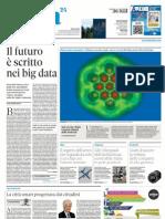 Nòva Il Sole 24 Ore - il futuro è scritto nei big data