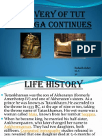 Discovery of Tut